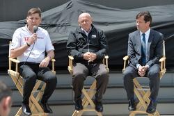 VP, COO of HPD Steve Eriksen, Derrick Walker and IMS President Doug Boles