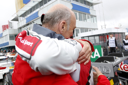 Dr. Wolfgang Ullrich,, Audi's Head of Sport and Mike Rockenfeller, Audi Sport Team Phoenix Audi RS 5 DTM