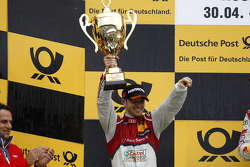 Podium, 2nd Edoardo Mortara, Audi Sport Team Abt Audi RS 5 DTM