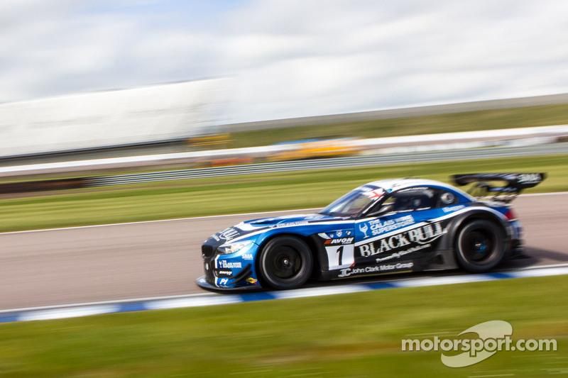 #1 Barwell Motorsport Ecurie Ecosse BMW Z4 GT3: Marco Attard, Alexander Sims