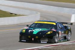 #61 Risi Competizione Ferrari 430 GT Berlinetta: Toni Vilander, Maurizio Mediani