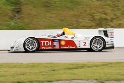 #2 Audi Sport North America Audi R10: Rinaldo Capello, Allan McNish