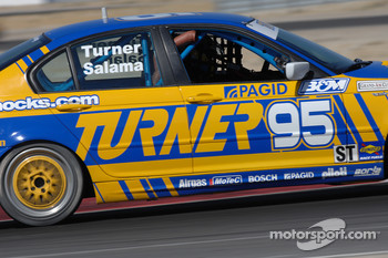#95 Turner Motorsport BMW 330i: Will Turner, Don Salama