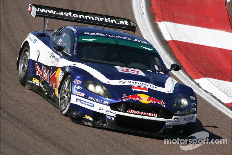 #33 Race Alliance Motorsport Aston Martin DBR9 : Karl Wendlinger, Philipp Peter
