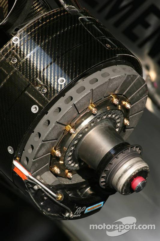 AP Racing brake system