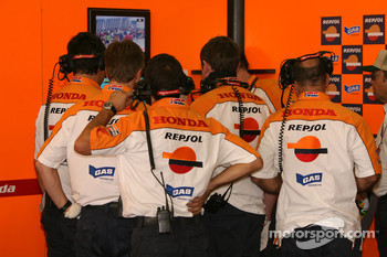 Repsol Honda team members