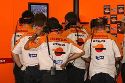 Repsol Honda team members