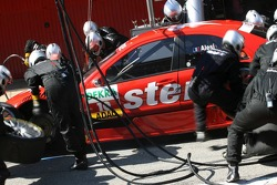 Pitstop for Jean Alesi