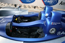 Fernandez Racing Lowe's Acura Lola LMP2 presentation: detail of the Acura Lola LMP2