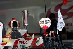 Super Aguri F1 Team prepare for the big race