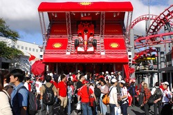 Ferrari Mechandise stand