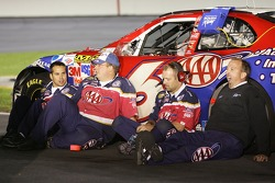 AAA Ford crew members take a break