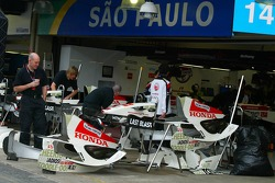Honda Racing F1 RA106 car parts
