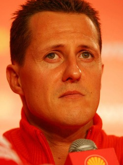Shell press conference: Michael Schumacher