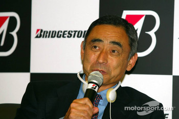 Bridgestone press conference