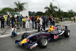 Red Bull Racing demo run in Sao Paulo: Michael Ammermuller