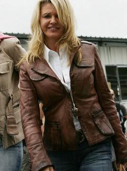 Corina Schumacher, wife of Michael Schumacher