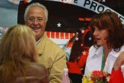 Corina Schumacher with  Rolf Schumacher and Barbara Stah