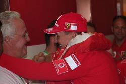 Michael Schumacher with his father Rolf