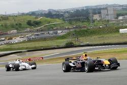 Michael Ammermuller and Sebastian Vettel