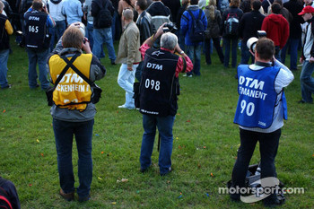 DTM photographers in action