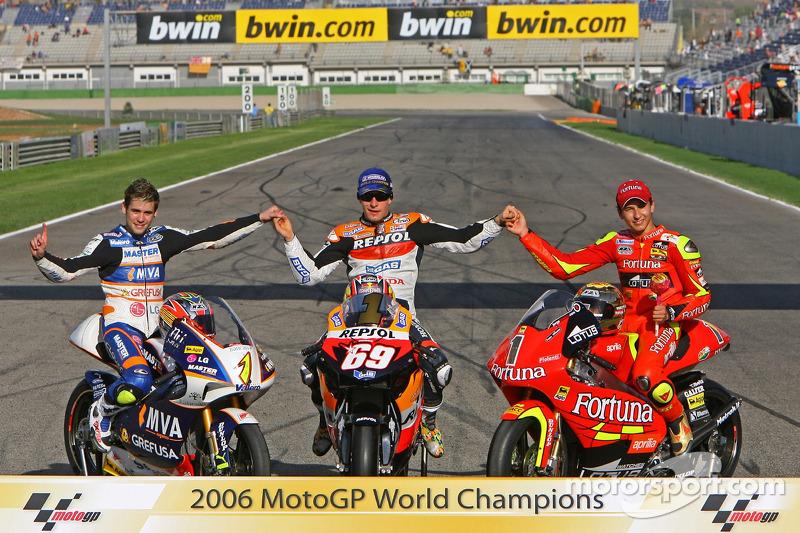 2006: 250cc World Champion