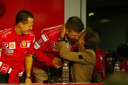 Press conference: Michael Schumacher, Ross Brawn and Luca di Montezemolo