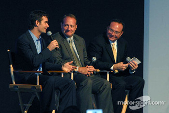Jeff Gordon, Ken Schrader, Jerry Punch