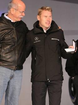 Dr. Dieter Zetsche and Mika Hakkinen