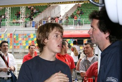 Sebastian Vettel and Trevor Carlin