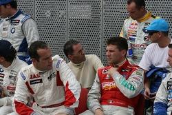 WTCC drivers group picture: Fabrizio Giovanardi, Alain Menu, Diego Romanini, Rickard Rydell, Nicola Larini