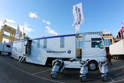 BMW Motorsport transporter