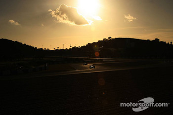 The sun sets over Jerez