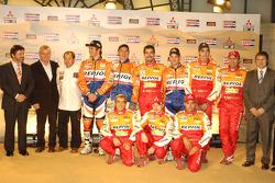 Team Repsol presentation in Barcelona: Team Repsol riders