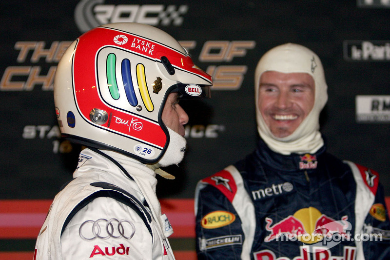 Tom Kristensen and David Coulthard