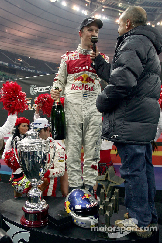 Race of Champions winner Mattias Ekström