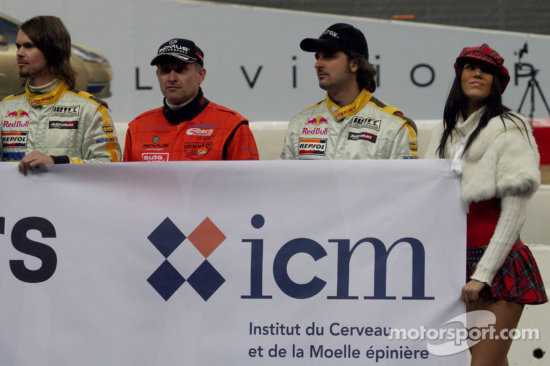 James Thompson, Armin Schwarz and Yvan Muller