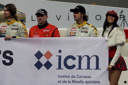 James Thompson, Armin Schwarz and Yvan Muller