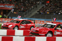 Semi final: Sébastien Loeb and Travis Pastrana