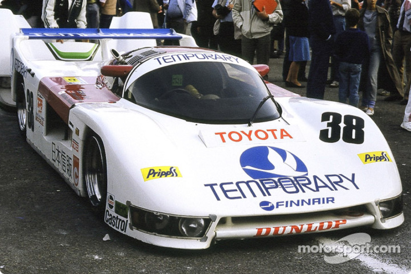 #36 Team Tom's Toyota 85 C:  Satoru Nakajima, Kaoru Hoshino, Masanori Sekiya