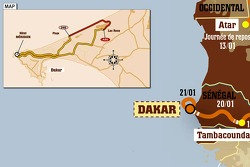 Stage 15: 2007-01-21, Dakar to Dakar