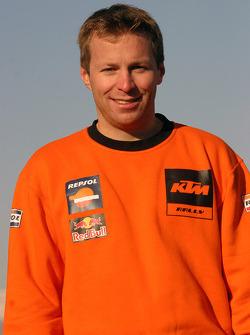 Team Repsol presentation: Stefan Huber, mechanic of Marc Coma