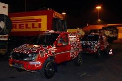 The Fiat Pando of Miki Biasion and Tiziano Siviero