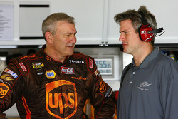 Dale Jarrett and crew chief Matt Borland