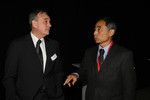 John Howett, Toyota Racing, President TMG and Hiroshi Yasukawa, Bridgestone