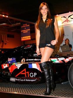 A1 Grand Prix Girl