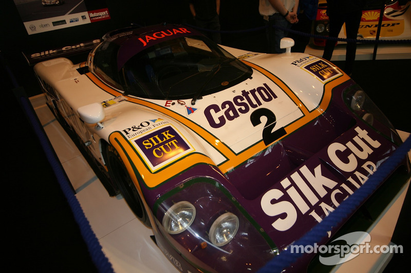 75 Years of Le Mans display: Jaguar XJR-9LM