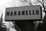 Maranello street sign