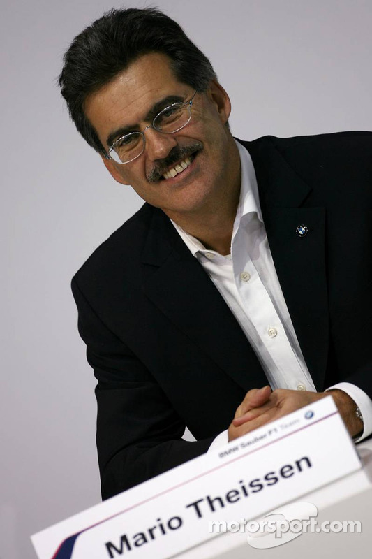 Dr. Mario Theissen, BMW Motorsport Director