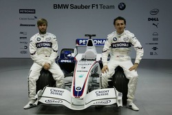 Nick Heidfeld and Robert Kubica